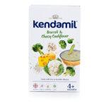 Kendamil Jemná bezlepková kaše s brokolicí, květákem a sýrem (150 g)